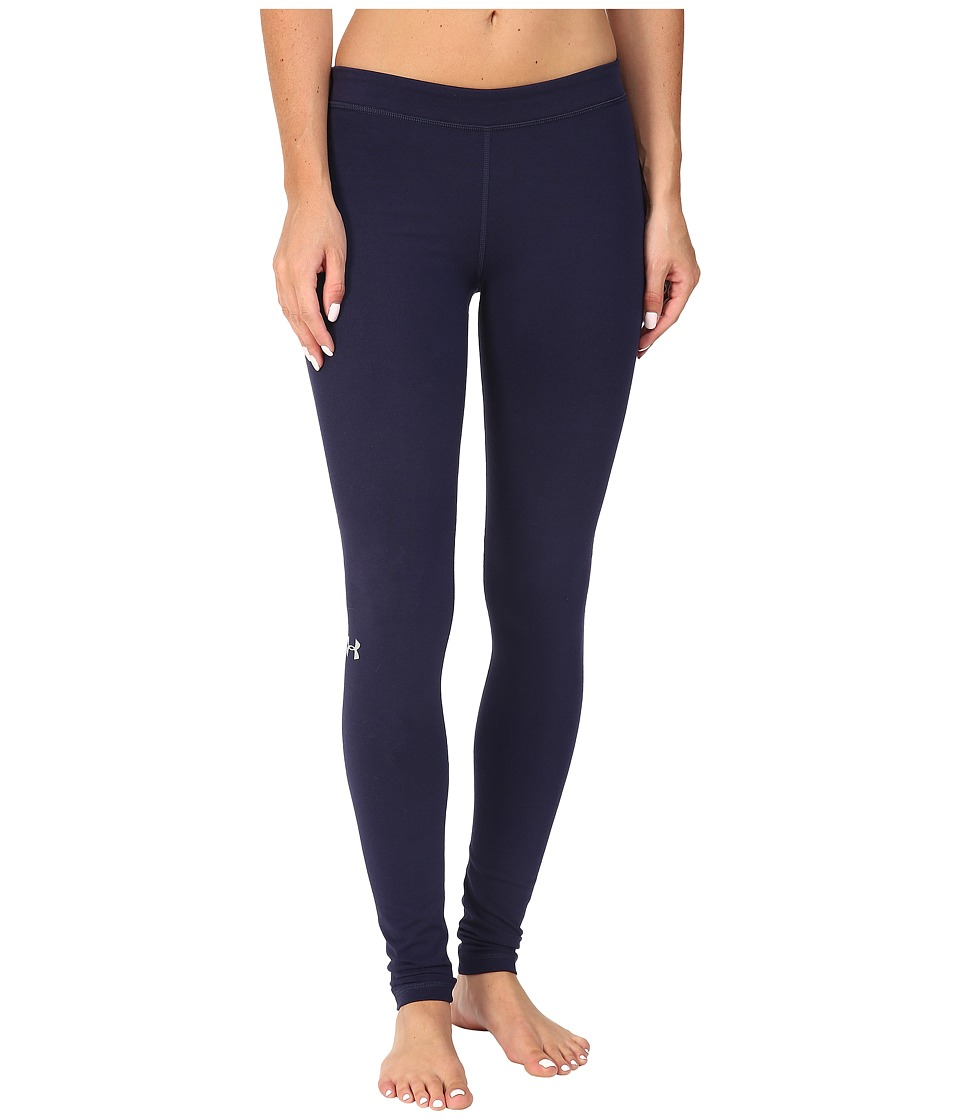 Under Armour - Favorite Leggings - Solid (Midnight Navy/Black/Steel) Women's Workout