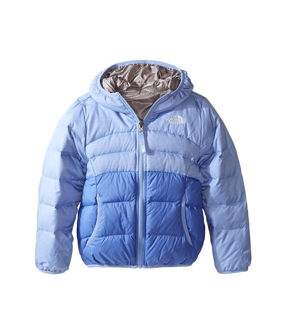 The North Face Kids - Reversible Moondoggy Jacket (Little Kids/Big Kids)2 (Grapemist Blue Heather) Girl's Coat