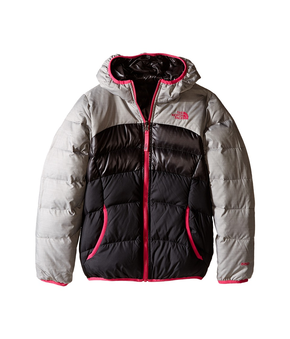 The North Face Kids - Reversible Moondoggy Jacket (Little Kids/Big Kids)2 (Metallic Silver Heather) Girl's Coat