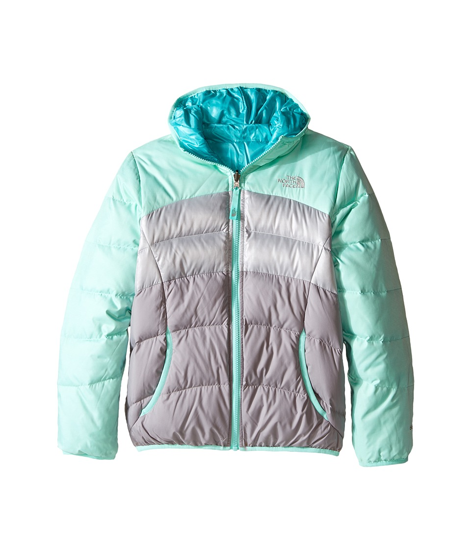 The North Face Kids - Reversible Moondoggy Jacket (Little Kids/Big Kids)2 (Ice Green Heather) Girl's Coat