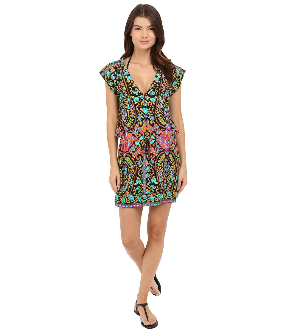 Nanette Lepore - King's Road Tunic Cover-Up (Multi) Women's Swimwear