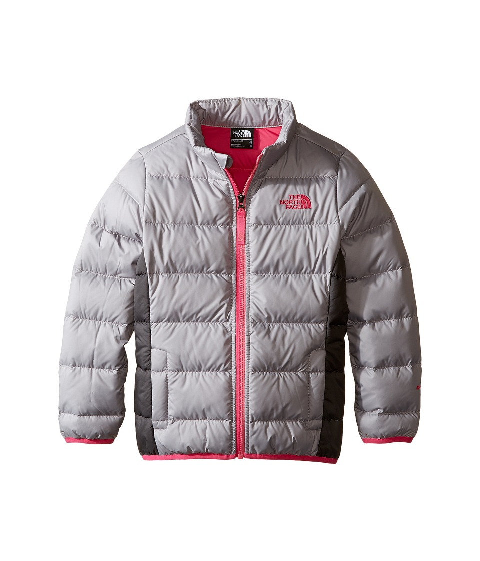The North Face Kids - Andes Jacket (Little Kids/Big Kids) (Metallic Silver) Girl's Coat