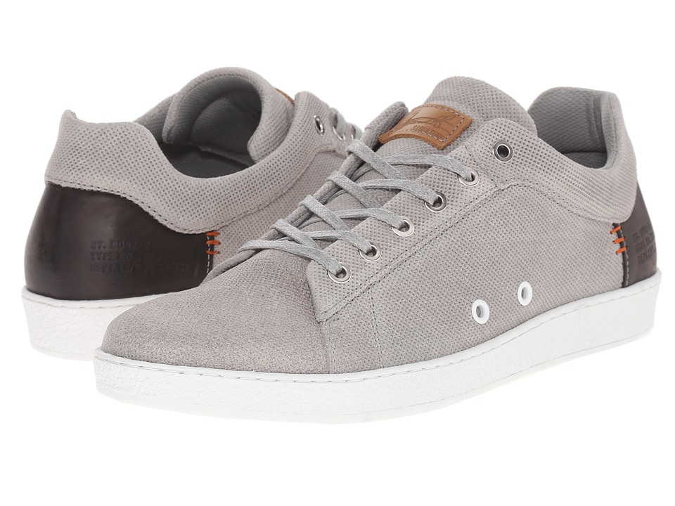 Dune London - Tidal (Grey Suede) Men's Shoes
