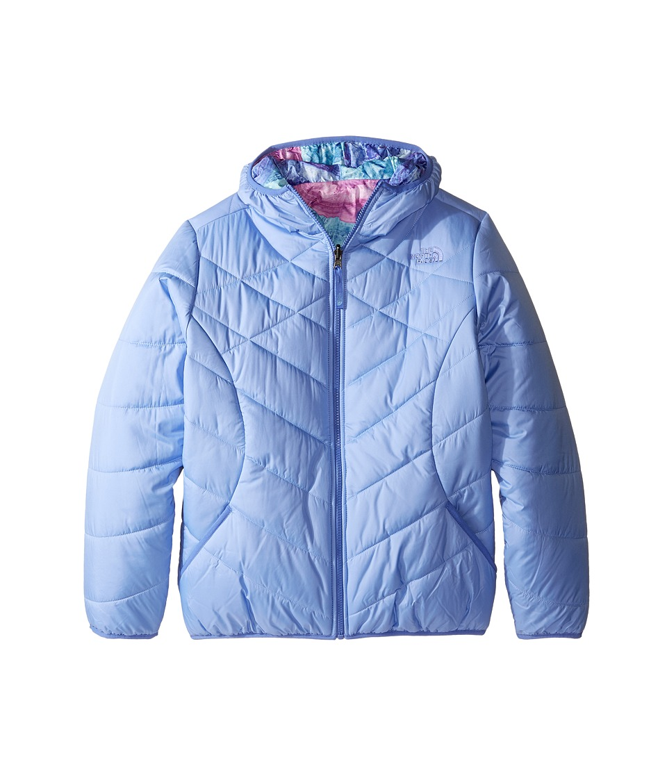 The North Face Kids - Reversible Perrito Jacket (Little Kids/Big Kids) (Grapemist Blue) Girl's Coat