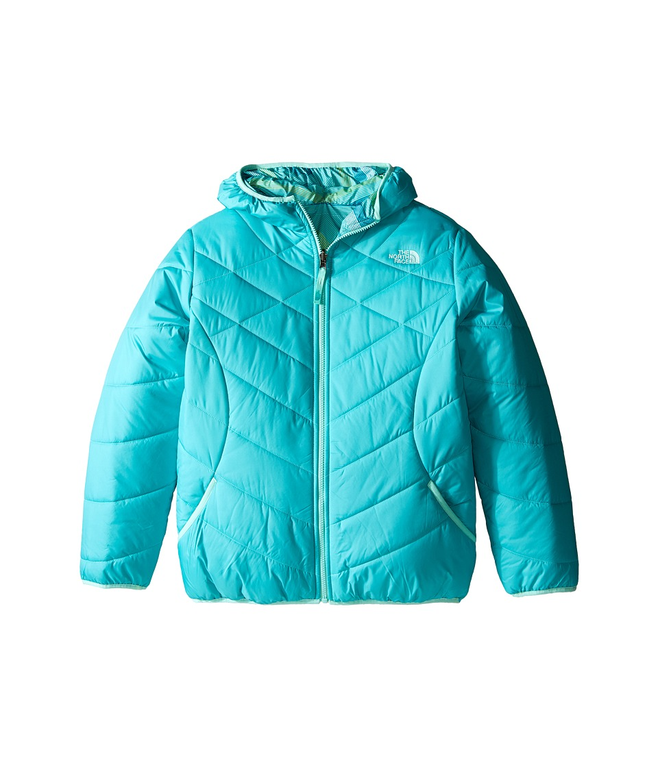 The North Face Kids - Reversible Perrito Jacket (Little Kids/Big Kids) (Ion Blue) Girl's Coat