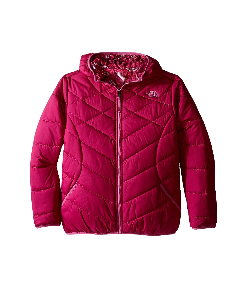 The North Face Kids - Reversible Perrito Jacket (Little Kids/Big Kids) (Roxbury Pink) Girl's Coat