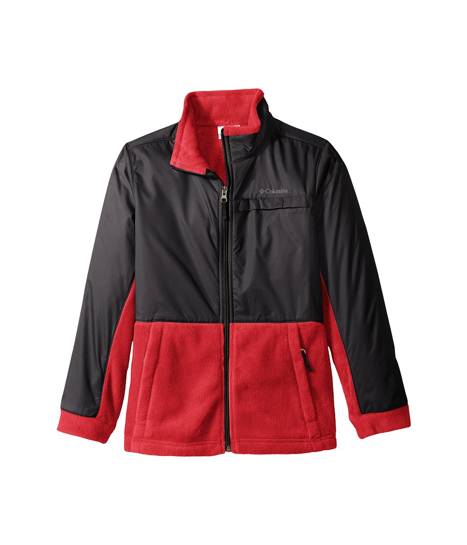 Columbia Kids - Steens Mountain Overlay (Little Kids/Big Kids) (Mountain Red/Black) Boy's Coat