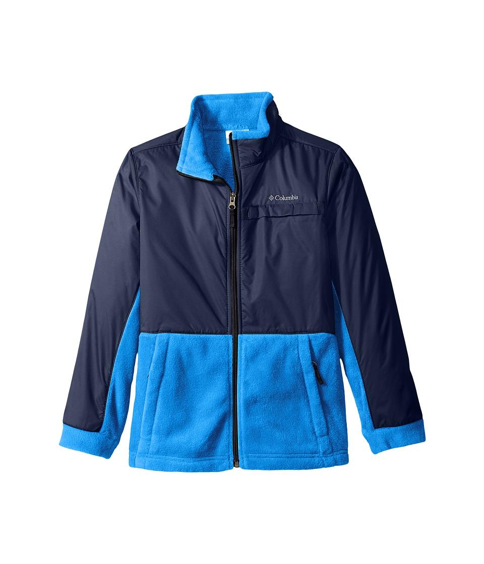 Columbia Kids - Steens Mountain Overlay (Little Kids/Big Kids) (Super Blue/Collegiate Navy) Boy's Coat