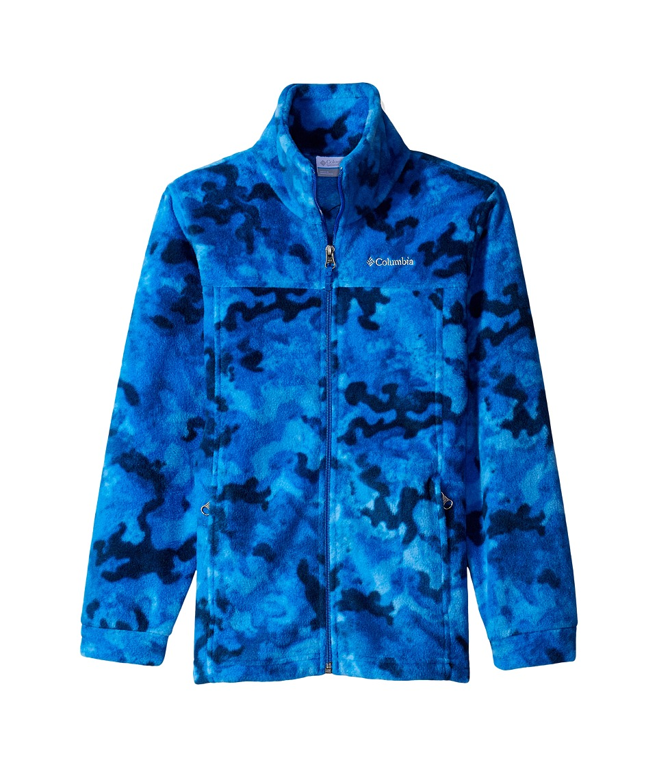 Columbia Kids - Zing III Fleece (Little Kids/Big Kids) (Marine Blue Camo) Boy's Fleece