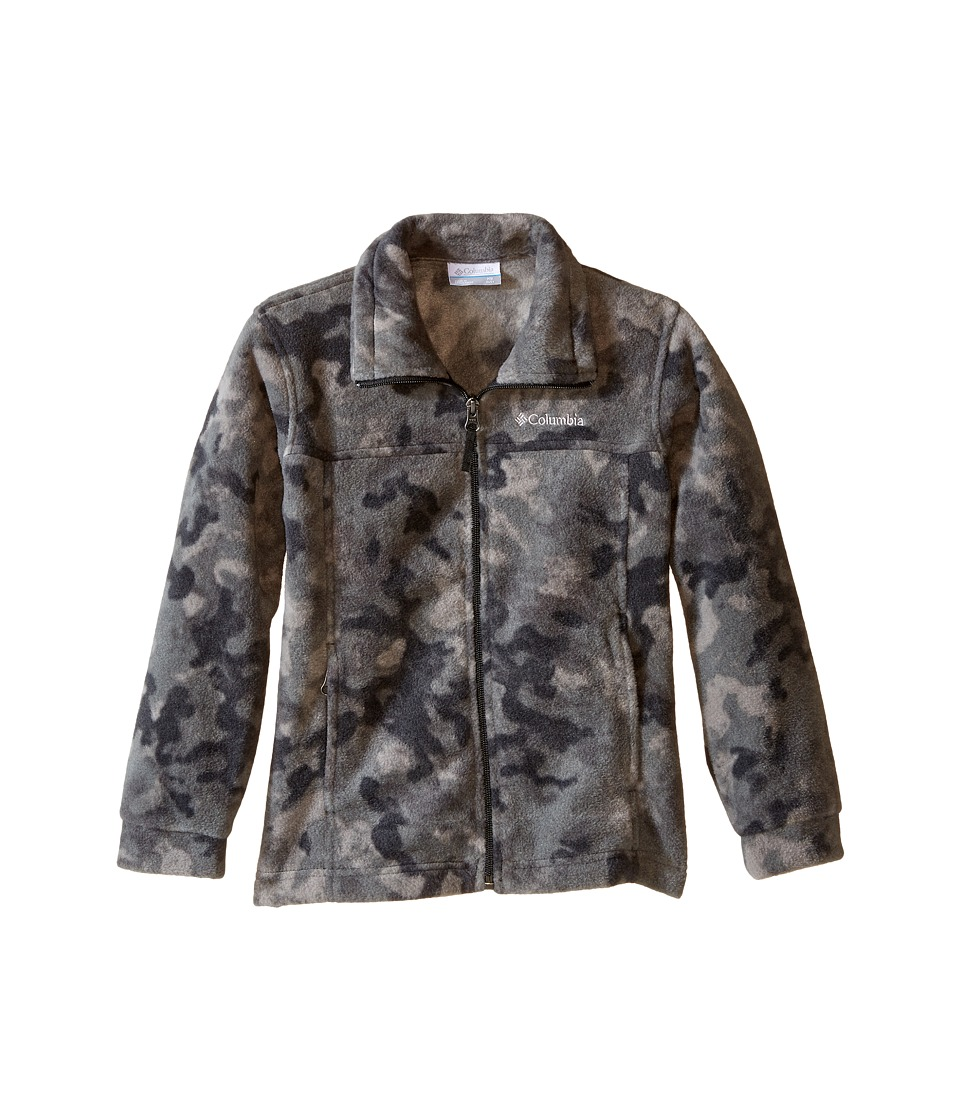 Columbia Kids - Zing III Fleece (Little Kids/Big Kids) (Black Camo) Boy's Fleece
