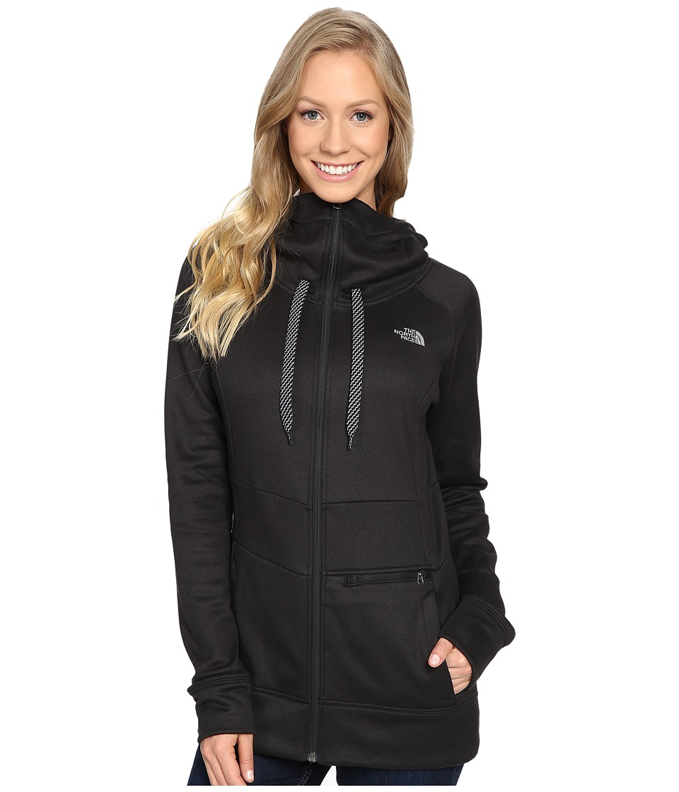 The North Face - Shelly Hoodie (TNF Black Heather) Women's Sweatshirt