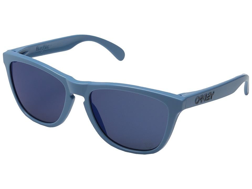 Oakley - Frogskins Polarized (Blue/Ice Iridium) Sport Sunglasses