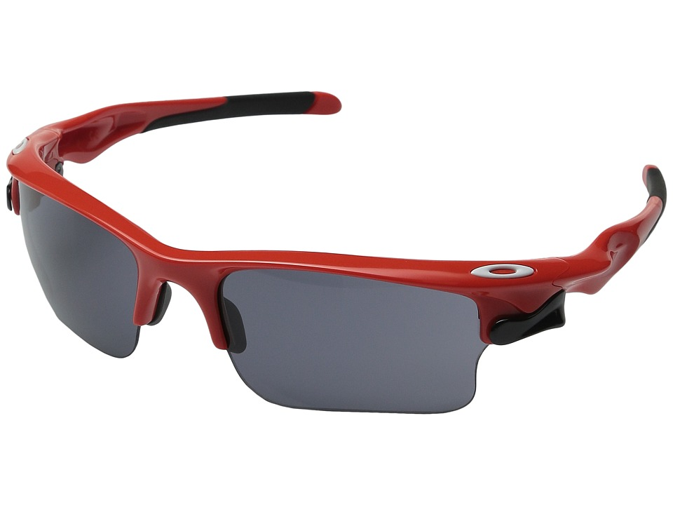 Oakley - Fast Jacket XL (Red/Grey) Polarized Sport Sunglasses