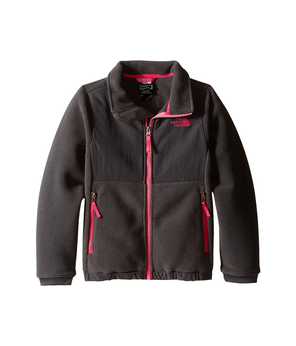 The North Face Kids - Denali Jacket (Little Kids/Big Kids) (Graphite Grey) Girl's Coat