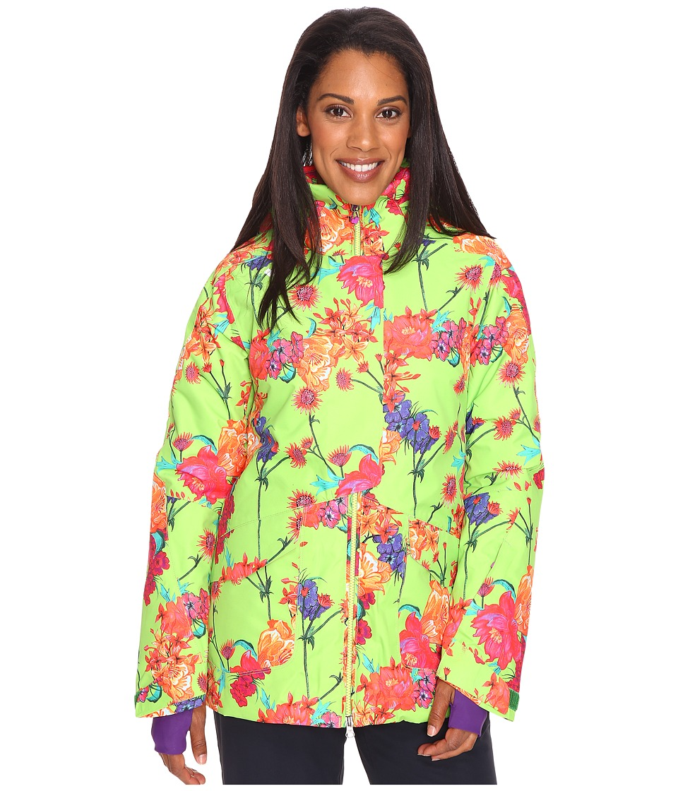 Obermeyer - Aura Jacket (Flower Burst) Women's Coat