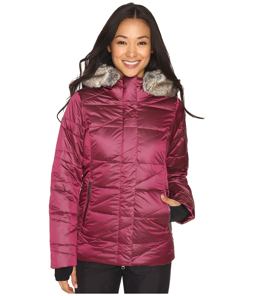 Obermeyer - Bombshell Down Parka (Bordeaux) Women's Coat