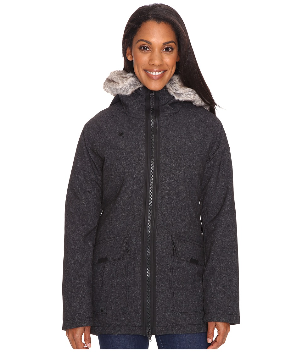 Obermeyer - Alexa Parka (Dark Heather Grey) Women's Coat