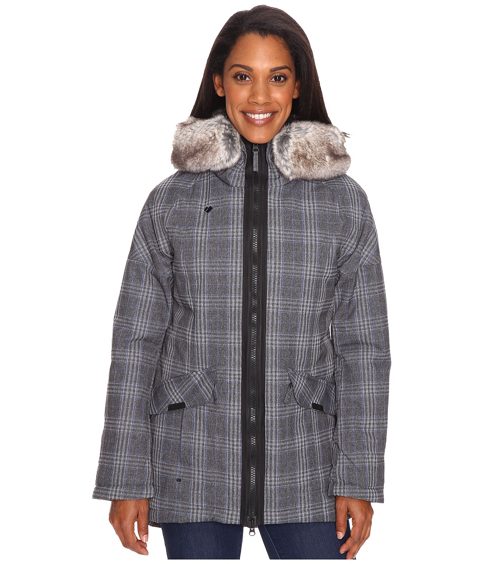 Obermeyer - Alexa Parka (Plaid Heather) Women's Coat