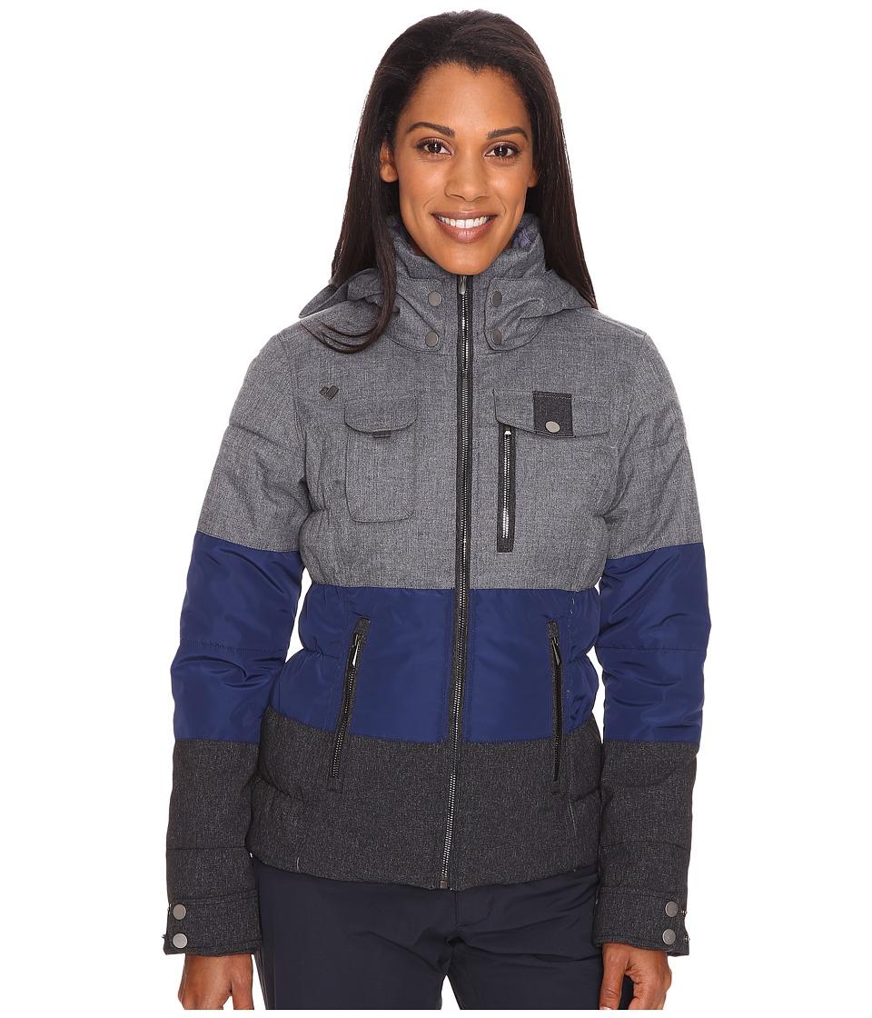 Obermeyer - Leighton Jacket (Light Heather Grey) Women's Coat