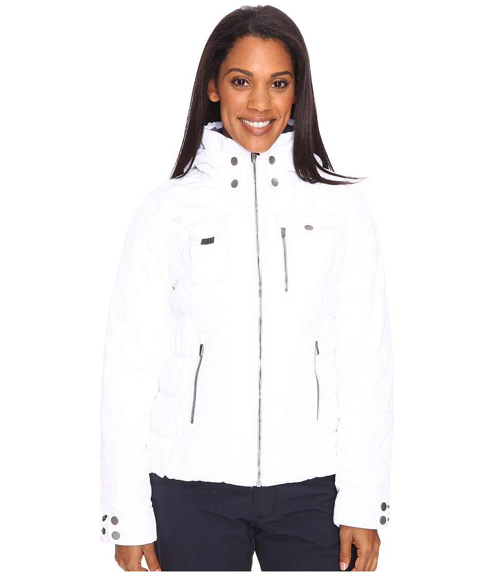Obermeyer - Leighton Jacket (White) Women's Coat