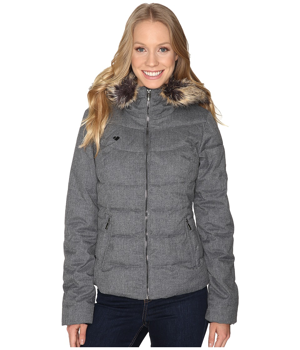 Obermeyer - Bombshell Jacket (Light Heather Grey) Women's Coat