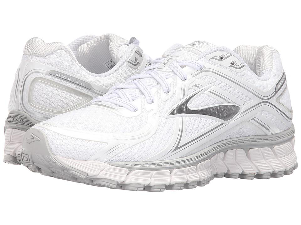 Brooks - Adrenaline GTS 16 (White/Silver) Women's Running Shoes