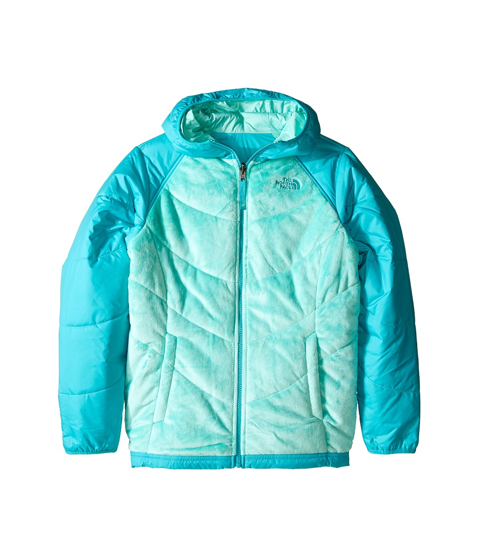 The North Face Kids - Reversible Perseus Jacket (Little Kids/Big Kids) (Ice Green) Girl's Coat