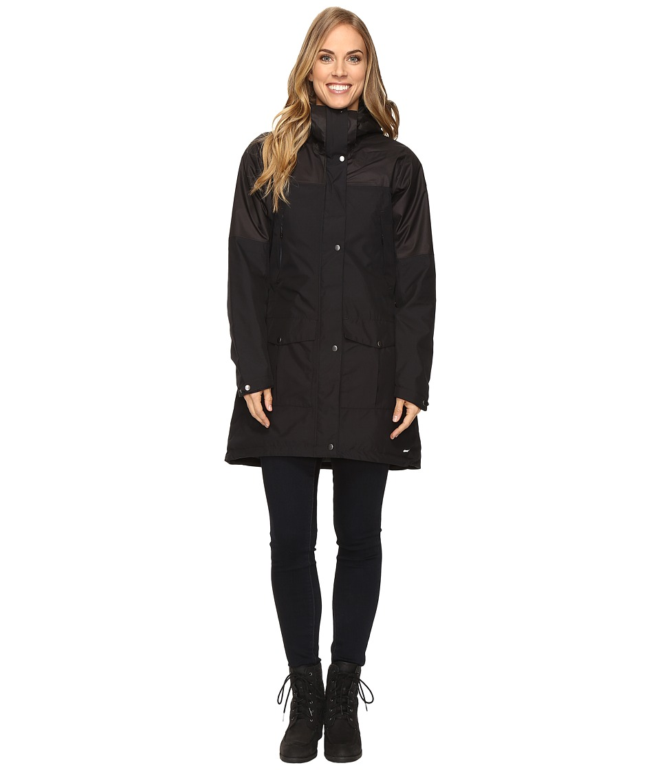 adidas Outdoor - Climaproof Insulated Parka (Black) Women's Coat