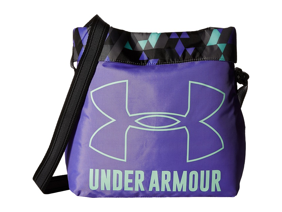 Under Armour - Armour Crossbody (Youth) (Violet Storm/Stealth Gray/Crystal) Cross Body Handbags