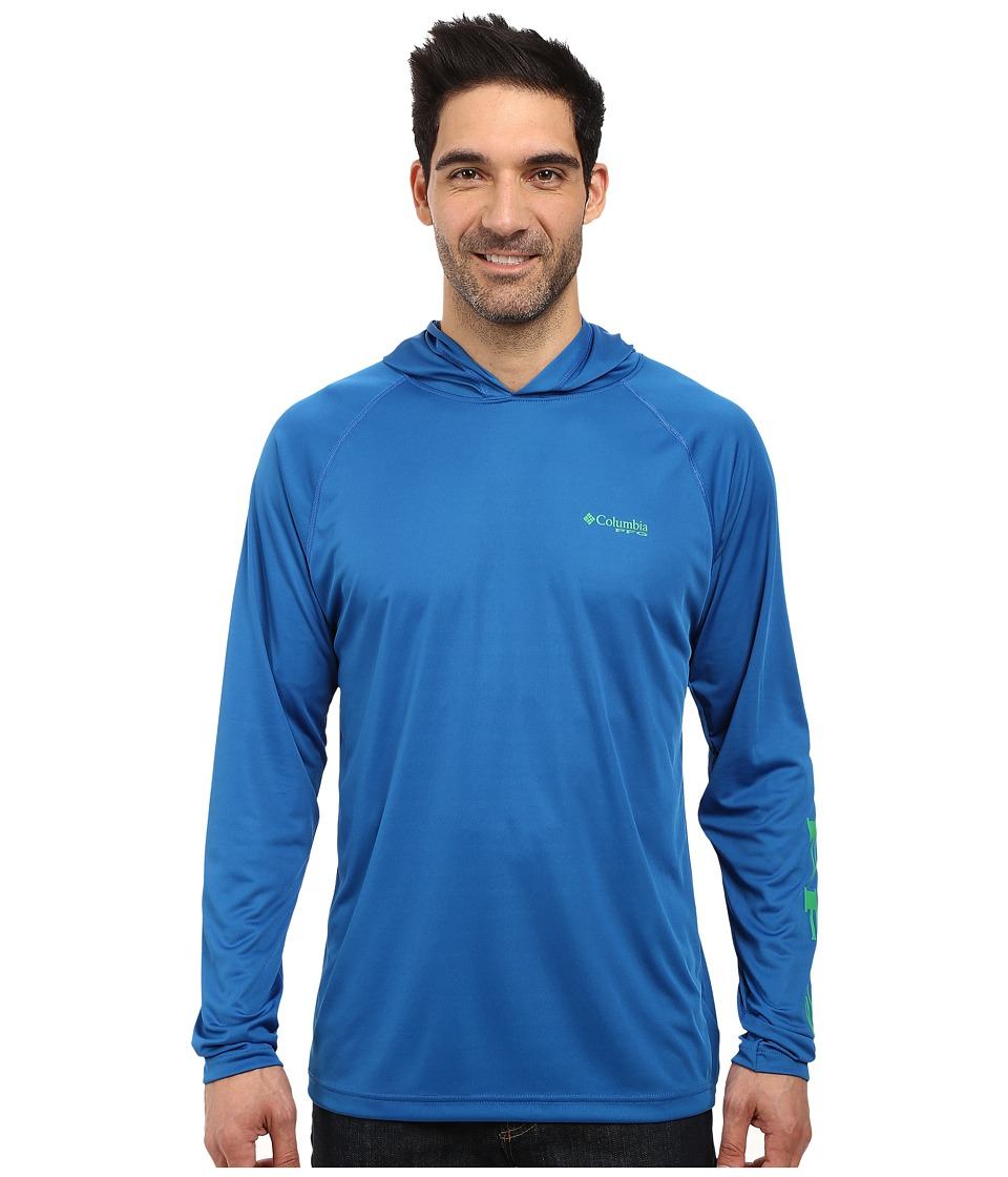 Columbia - Terminal Tackle Hoodie (Windswept/Dark Lime) Men's Sweatshirt