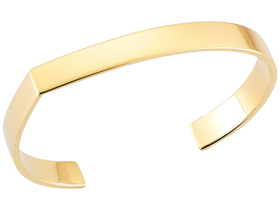 Elizabeth and James - Quinn Cuff Bracelet (Yellow Gold) Bracelet