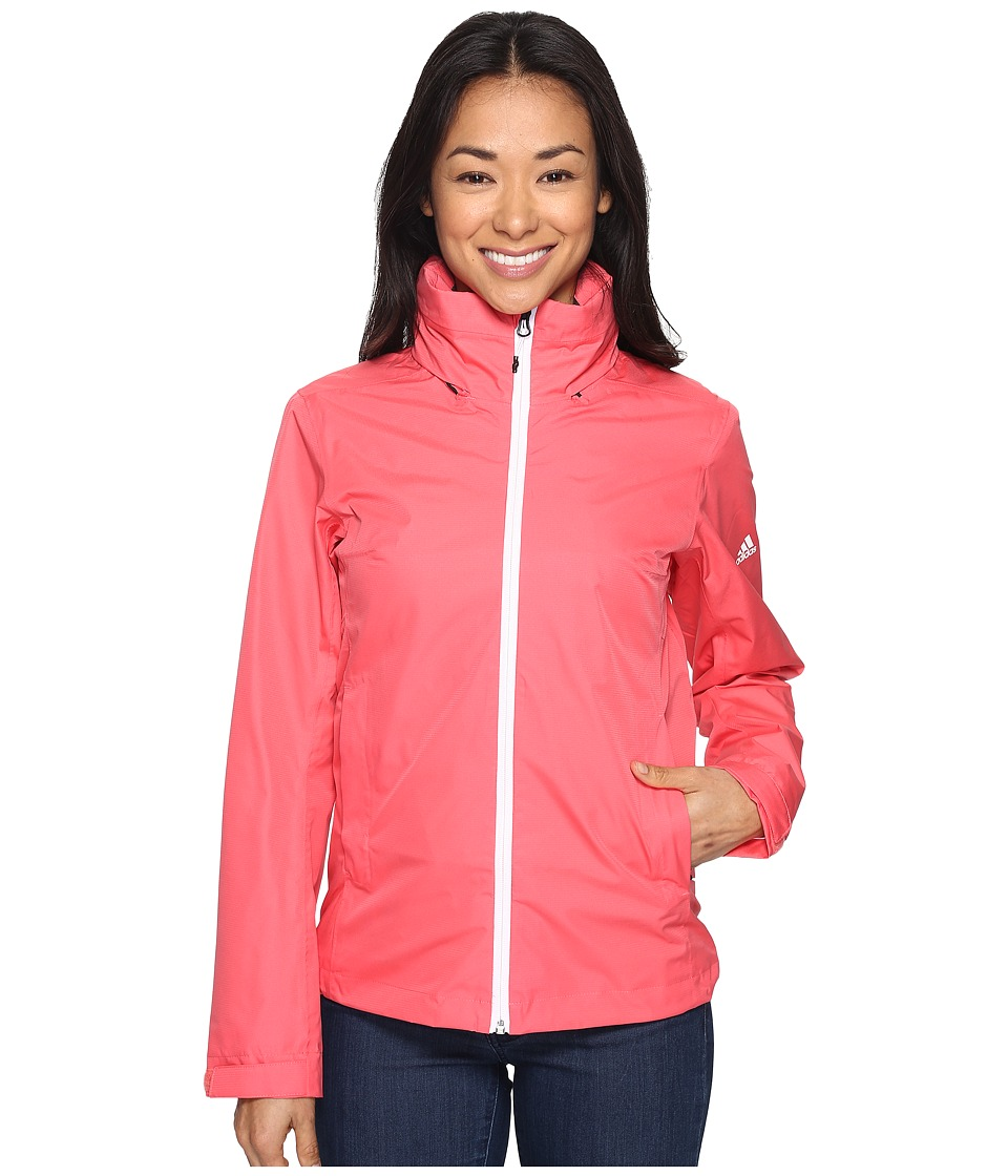 adidas Outdoor - Wandertag Jacket (Super Blush) Women's Coat