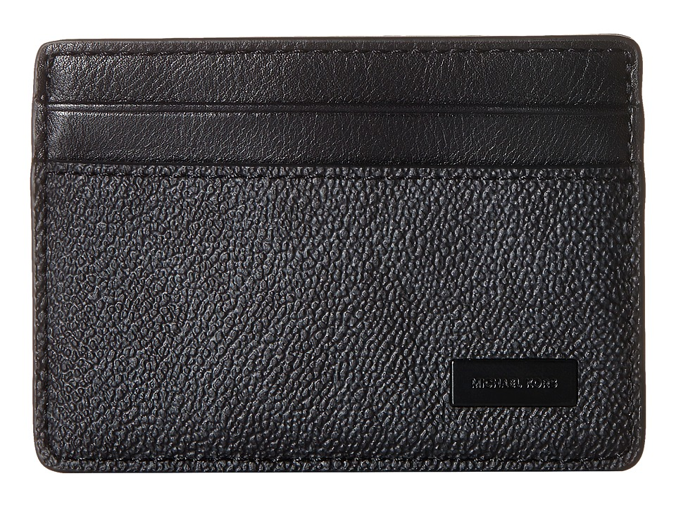 Michael Kors - Box Sets Card Case W Key Fob Set (Black) Credit card Wallet
