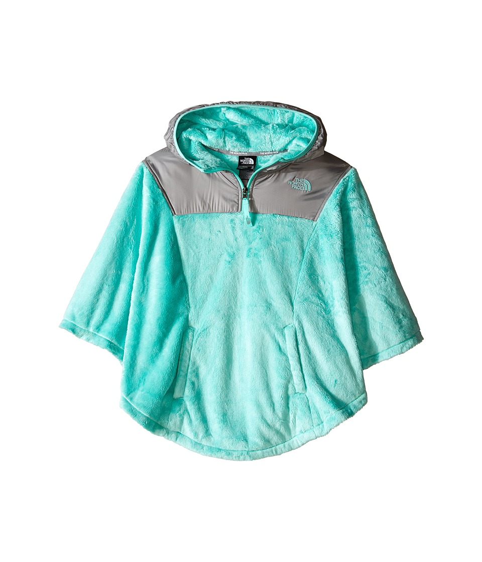 The North Face Kids - Oso Poncho (Little Kids/Big Kids) (Ice Green) Girl's Sweatshirt