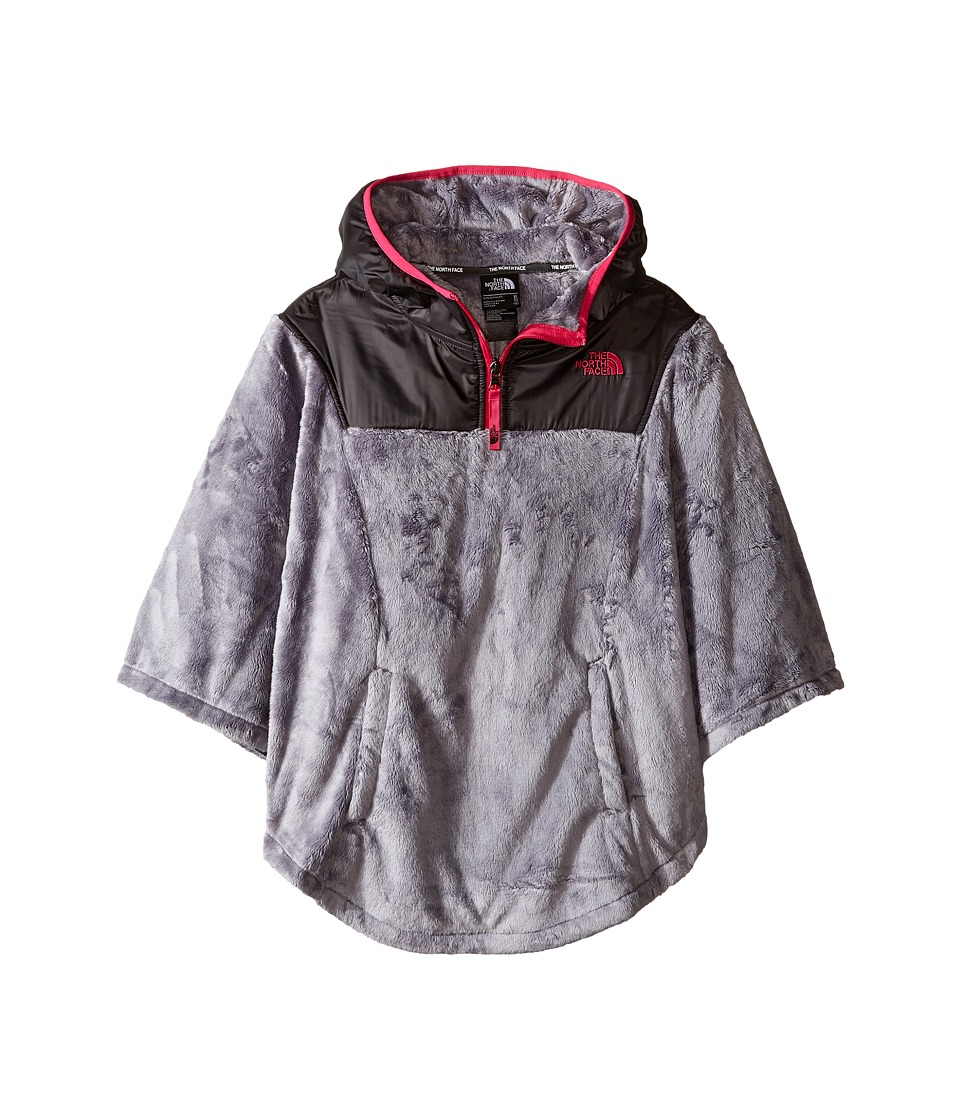 The North Face Kids - Oso Poncho (Little Kids/Big Kids) (Metallic Silver) Girl's Sweatshirt