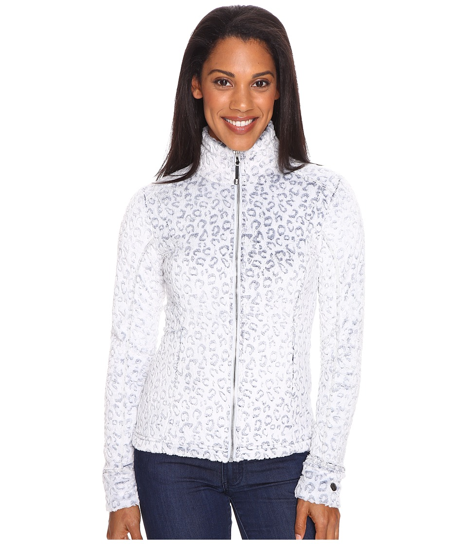 Obermeyer - Tess Fleece Jacket (Ice Leopard) Women's Coat