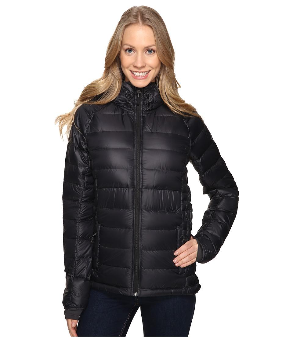 adidas Outdoor - Frost Hooded Jacket (Black/Utility Black) Women's Coat