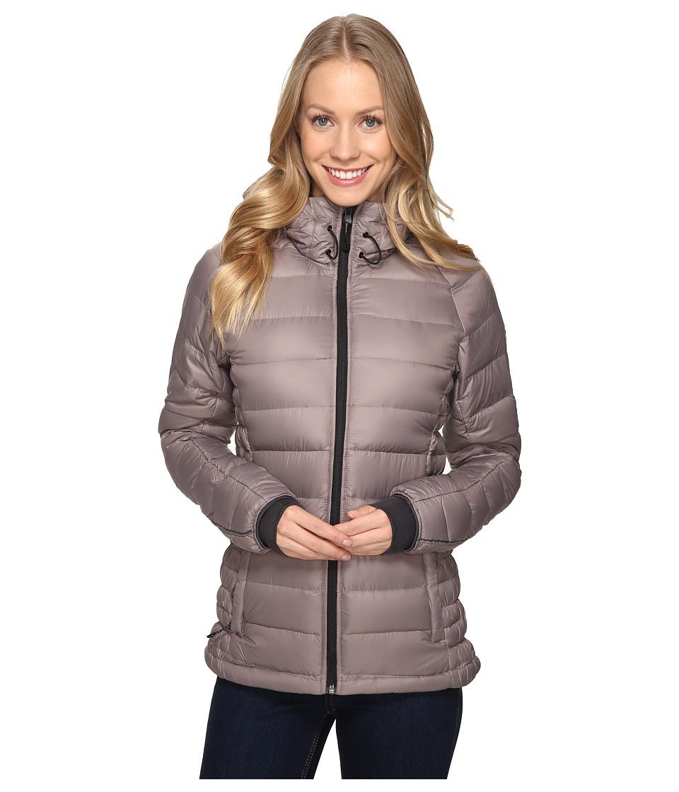 adidas Outdoor - Frost Hooded Jacket (Tech Earth/Utility Black) Women's Coat