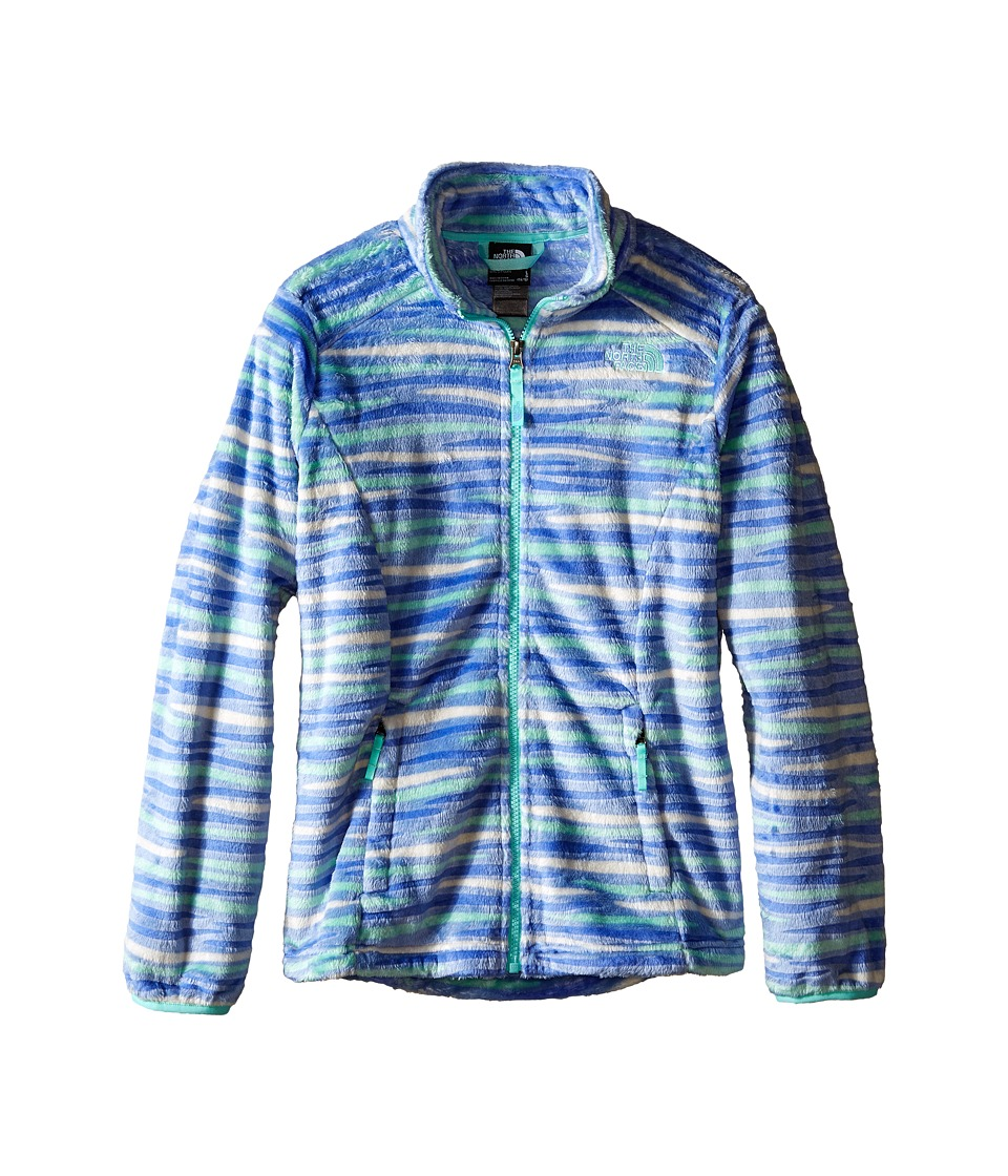 The North Face Kids - Osolita Jacket (Little Kids/Big Kids) (Grapemist Blue Wavy Stripe) Girl's Coat