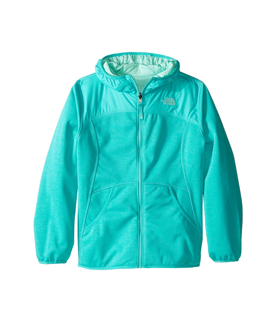 The North Face Kids - Reversible Haldee Hoodie (Little Kids/Big Kids) (Ion Blue Heather) Girl's Sweatshirt