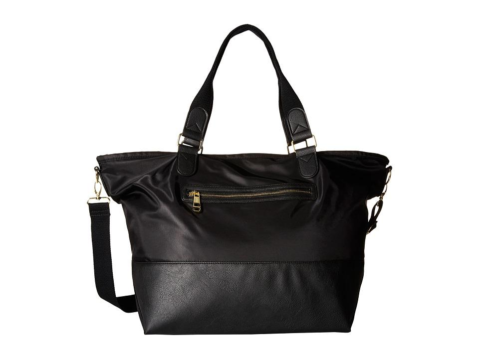 Madden Girl - Mgcori Nylon Weekender (Black) Weekender/Overnight Luggage