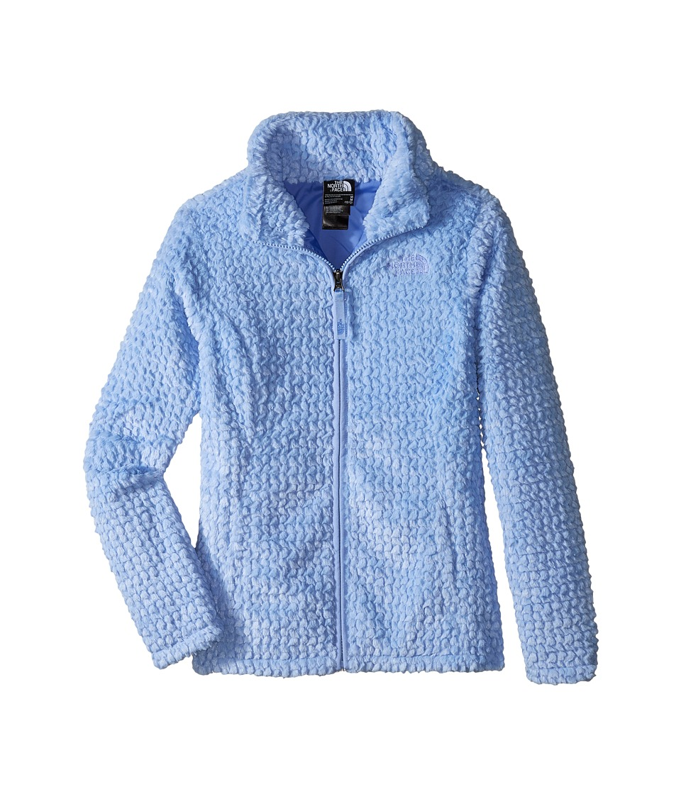 The North Face Kids - Laurel Fleece Full Zip (Little Kids/Big Kids) (Grapemist Blue) Girl's Coat