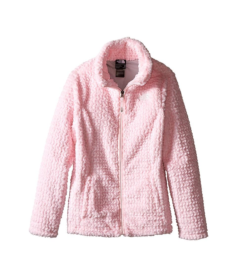 The North Face Kids - Laurel Fleece Full Zip (Little Kids/Big Kids) (Coy Pink) Girl's Coat