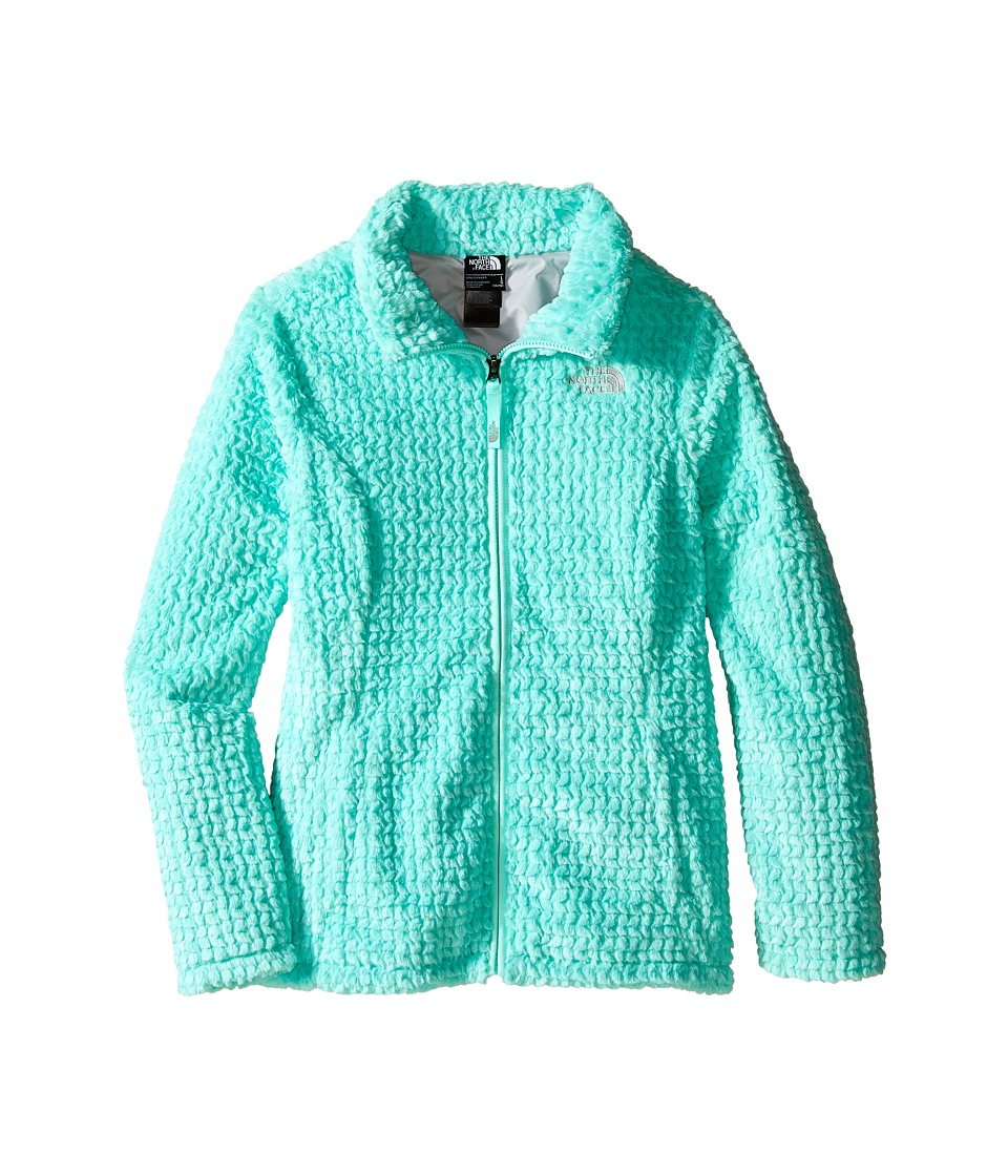 The North Face Kids - Laurel Fleece Full Zip (Little Kids/Big Kids) (Ice Green) Girl's Coat