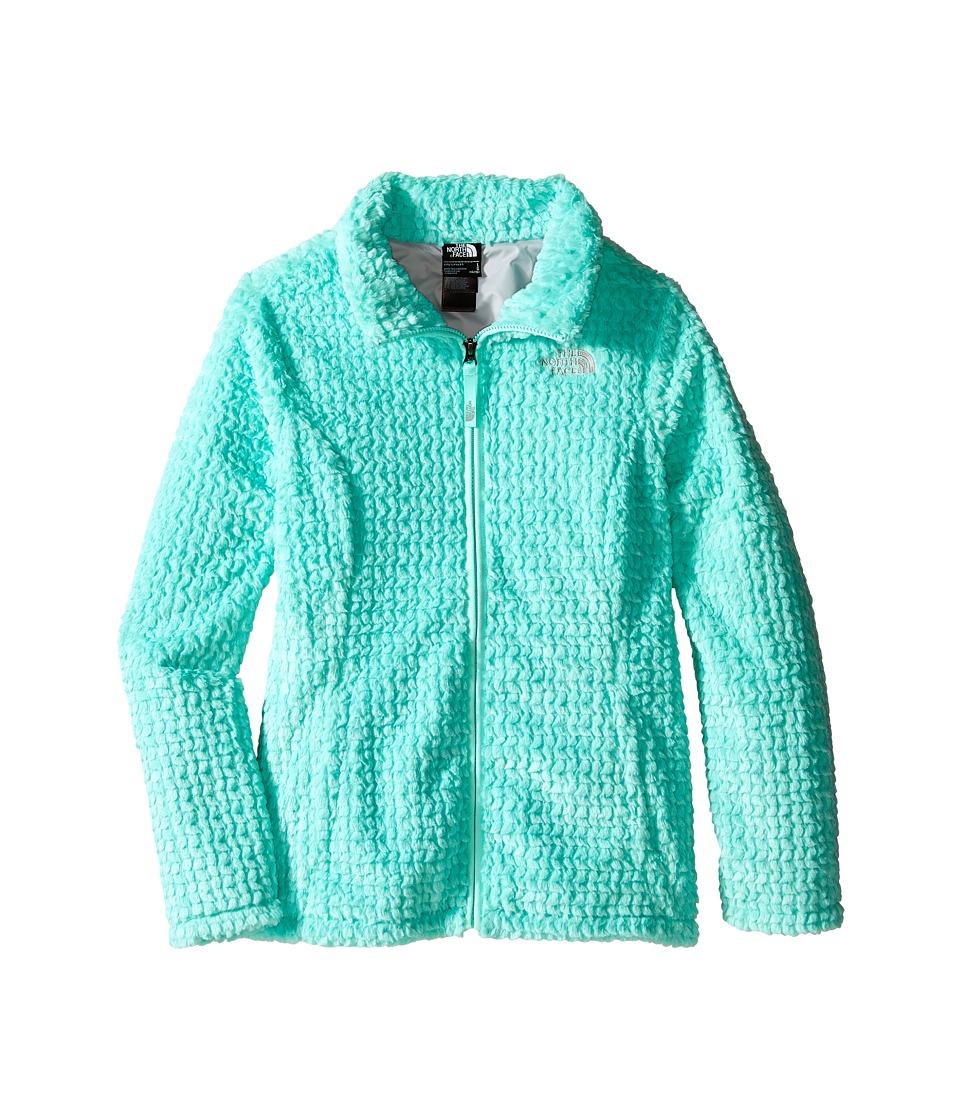 The North Face Kids - Laurel Fleece Full Zip (Little Kids/Big Kids) (Ice Green) Girl's Coat