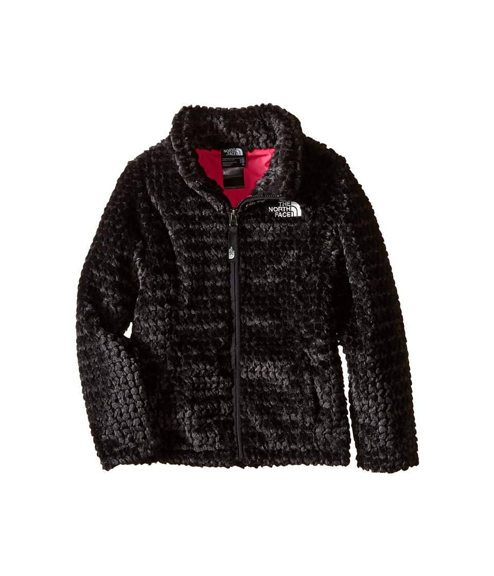 The North Face Kids - Laurel Fleece Full Zip (Little Kids/Big Kids) (TNF Black) Girl's Coat