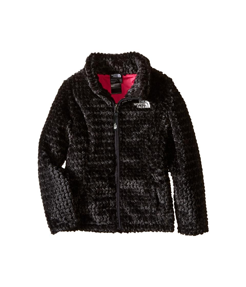 The North Face Kids - Laurel Fleece Full Zip (Little Kids/Big Kids) (TNF Black) Girl's Coat