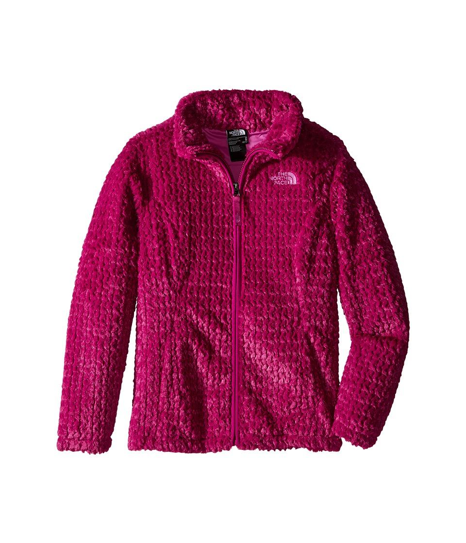 The North Face Kids - Laurel Fleece Full Zip (Little Kids/Big Kids) (Roxbury Pink) Girl's Coat