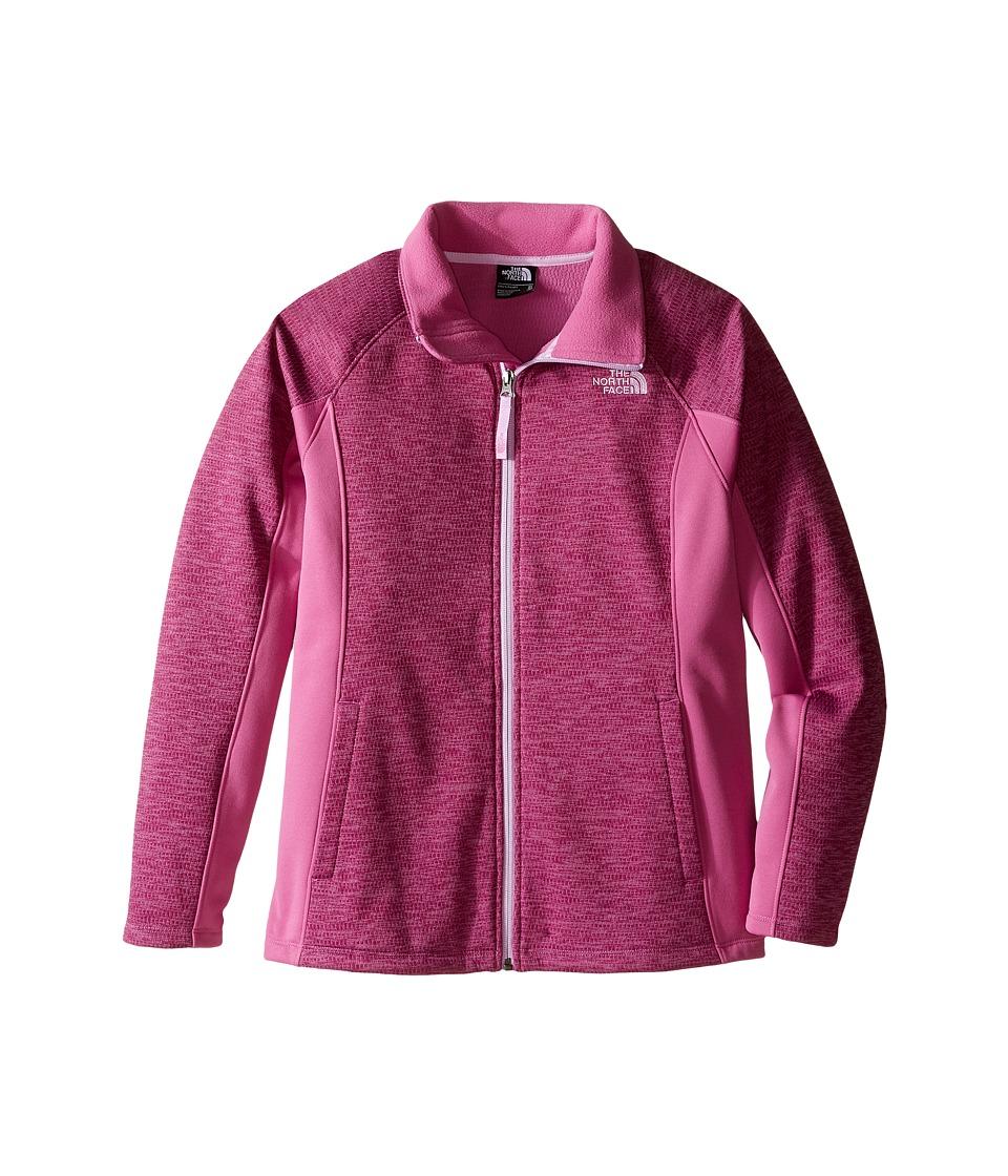 The North Face Kids Arcata Full Zip Jacket (Little Kids/Big Kids) (Wisteria Purple Heather) Girl