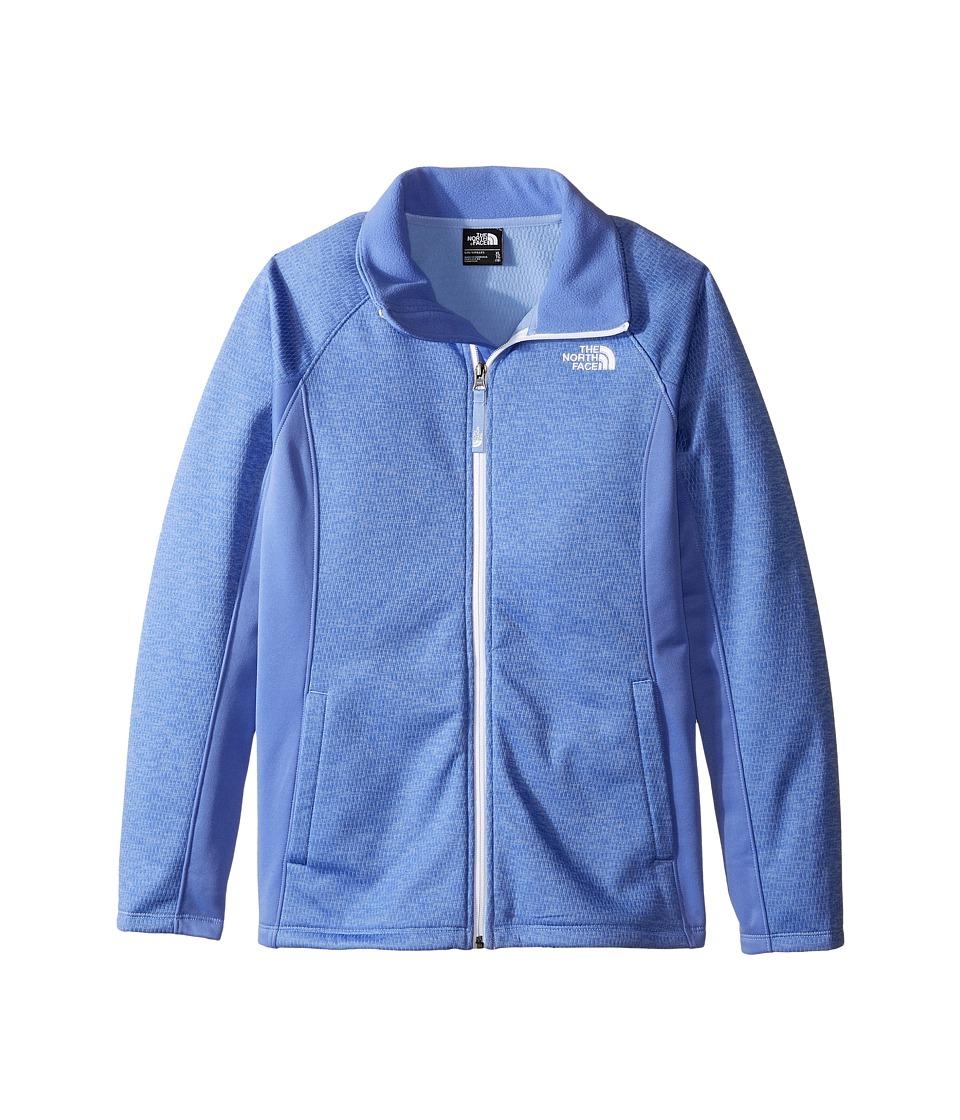 The North Face Kids Arcata Full Zip Jacket (Little Kids/Big Kids) (Grapemist Blue Heather) Girl
